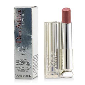 Christian Dior Dior Addict Hydra Gel Core Mirror Shine Lipstick - #553 Smile  3.5g/0.12oz