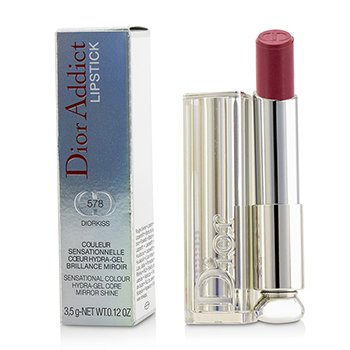 Christian Dior Dior Addict Hydra Gel Core Mirror Shine Lipstick - #578 Diorkiss  3.5g/0.12oz