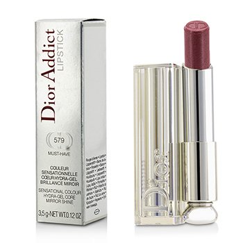Christian Dior Dior Addict Hydra Gel Core Mirror Shine Lipstick - #579 Must Have  3.5g/0.12oz