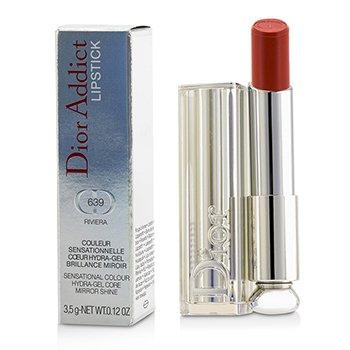 Christian Dior Dior Addict Hydra Gel Core Mirror Shine Lipstick - #639 Riviera  3.5g/0.12oz