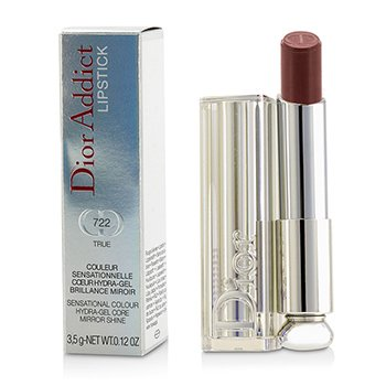 Christian Dior Dior Addict Hydra Gel Core Mirror Shine Color Labios - #722 True  3.5g/0.12oz