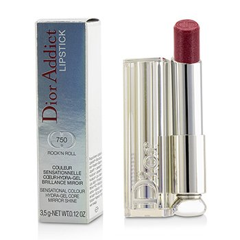 Christian Dior Dior Addict Hydra Gel Core Mirror Shine Color Labios - #750 Rock'N Roll  3.5g/0.12oz