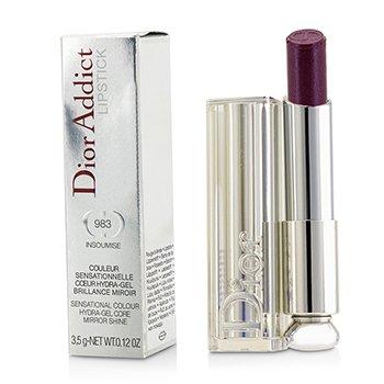 Christian Dior Dior Addict Hydra Gel Core Mirror Shine Lipstick - #983 Insoumise  3.5g/0.12oz