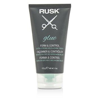 Rusk Glue Form & Control (Fijación Extra Fuerte, Acabado Brillante)  113g/4oz