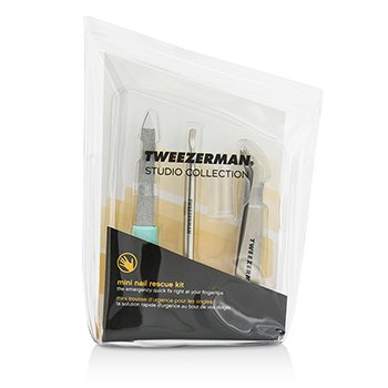 Tweezerman Mini Nail Rescue Set (Studio Collection)  3pcs