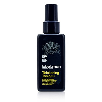 Label.M Tonik do włosów Men's Thickening Tonic (Unique Gel to Liquid Formula Builds Thickness and Definition For Big Matt Styles with Firm Hold)  150ml/5oz