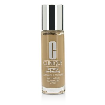 Clinique Beyond Perfecting Foundation & Concealer - # 02 Alabaster (VF-N)  30ml/1oz