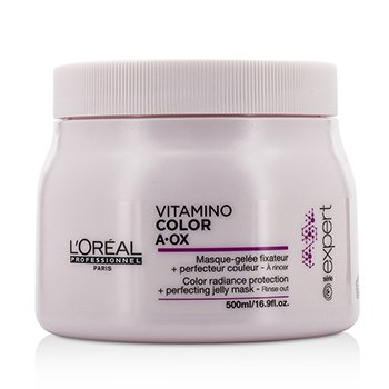 ロレアル Professionnel Expert Serie - Vitamino Color A.OX Color Radiance Protection+ Perfecting Jelly Mask -   500ml/16.9oz