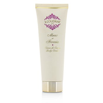 E Coudray Musc & Freesia Perfumed Body Cream  125ml/4.2oz
