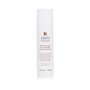 キールズ Hydro-Plumping Re-Texturizing Serum Concentrate  75ml/2.5oz