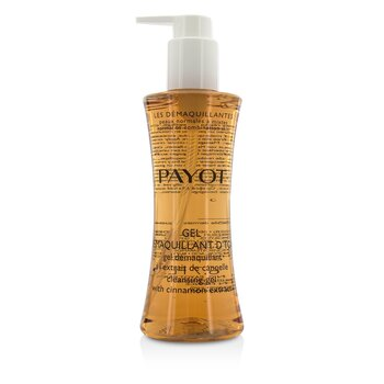 Payot Les Demaquillantes Gel Demaquillant D'Tox Gel Limpiador con Extracto de Canela - Piel Normal a Mixta  200ml/6.7oz