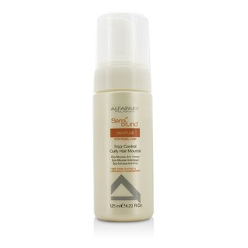 AlfaParf Semi Di Lino Discipline Frizz Control Curly Hair Mousse (For Rebel Hair)  125ml/4.23oz