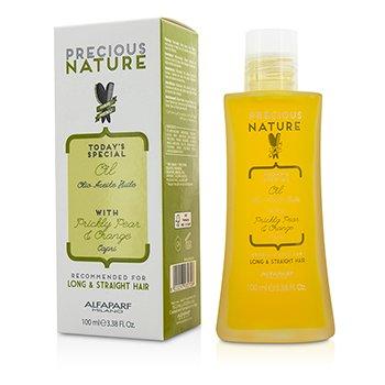 AlfaParf Precious Nature Today's Special Aceite con Pera y Naranja (Para Cabello Largo & Lacio)  100ml/3.38oz