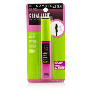 Maybelline Great Lash Mascara with Classic Volume Brush - #101 Very Black  12.7ml/0.43oz