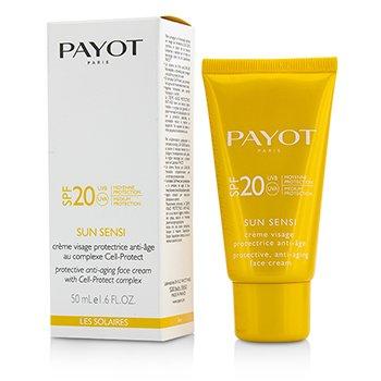 パイヨ Les Solaires Sun Sensi Protective Anti-Aging Face Cream SPF 20  50ml/1.6oz