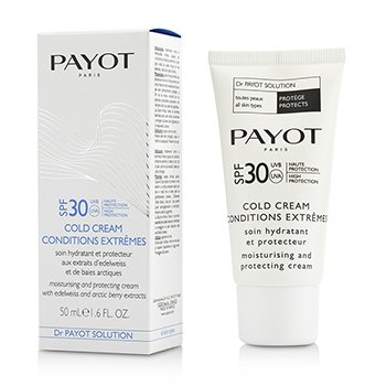 Payot Krem na dzień z wysokim filtrem ochronnym Dr Payot Solution Cold Cream Conditions Extremes SPF 30  50ml/1.6oz