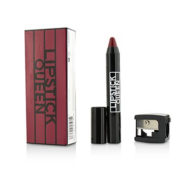 Lipstick Queen Chinatown Glossy Pencil With Pencil Sharpener - # Thriller (Sheer Scarlet Red)  7g/0.25oz