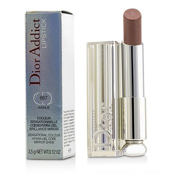 Christian Dior Dior Addict Hydra Gel Core Mirror Shine Lipstick - #667 Avenue  3.5g/0.12oz