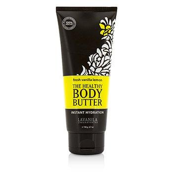 Lavanila Laboratories The Healthy Body Butter - Pelembab Badan - Fresh Vanilla Lemon  190g/6.7oz