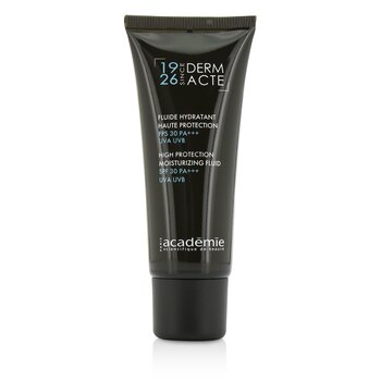 Academie Derm Acte High Protection Moisturizing Fluid SPF 30 PA+++ UVA UVB  40ml/1.3oz