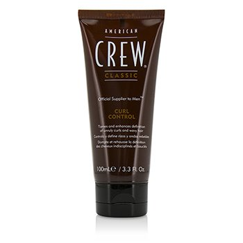 American Crew Men Curl Control (Tames and Enhances Definition of Unruly Curls and Wavy Hair)  100ml/3.3oz