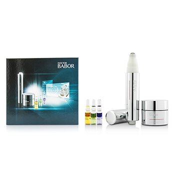 バボール Doctor Babor Set: Cream 30ml+Eye Cream 15ml+Glow Booster Ampoule 1ml+Stress-Relief Ampoule 1ml+Youth Control Ampoule 1ml  5pcs