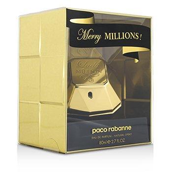 Paco Rabanne Lady Million Merry Millions أو دو برفوم سبراي  80ml/2.7oz