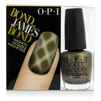 O.P.I Magnetic Lacquers & Magnetizers - #Bond...James Bond  -