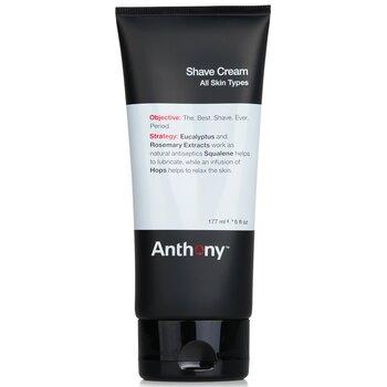 Anthony Logistics For Men Crema De Afeitar Para usar: Aplicar una capa delgada sobre la cara húmeda. Afeitar y enjuagar bien. Seguir con astringente o tónico| 177ml/6oz
