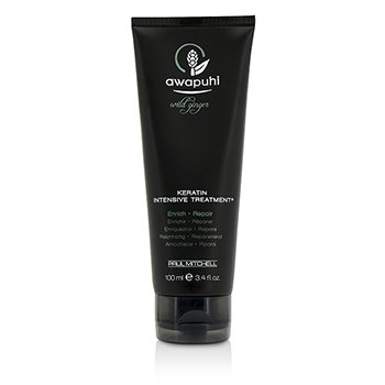 Paul Mitchell Awapuhi Wild Ginger Keratin Intensive Treatment (For Dry and Damaged Hair)  100ml/3.4oz