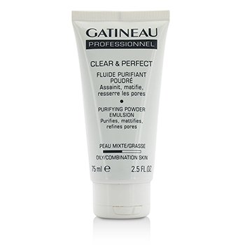Gatineau Clear & Perfect Purifying Powder Emulsión (Para Piel Grasa/Mixta) (Tamaño Salón)  75ml/2.5oz