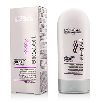 L'Oreal Professionnel Expert Serie - Vitamino Color Fresh Feel Bodifying + Perfecting <Fresh Effect> Маска - Смываемая  150ml/5oz