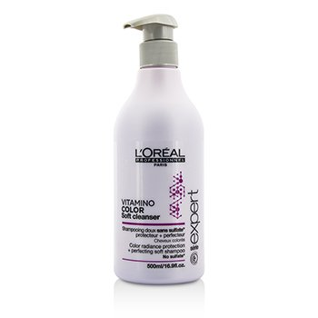 ロレアル Professionnel Expert Serie - Vitamino Color Soft Cleanser Color Radiance Protection + Perfecting Soft Shampoo  500ml/16.9oz