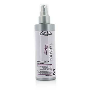 L'Oreal Professionnel Expert Serie - Cristalceutic SilicActive Color Radiance Protection Serum - Leave In (For Color-Treated Hair)  190ml/6.4oz