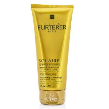 רנה פורטר Solaire ג'ל רחצה מזין עם שעוות חוחובה (לשיער ולגוף)  200ml/6.76oz