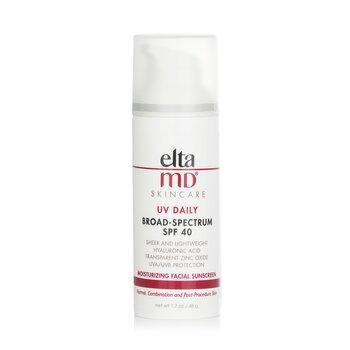 EltaMD UV Daily Moisturizing Facial Sunscreen SPF 40 - For Normal, Combination & Post-Procedure Skin  48g/1.7oz