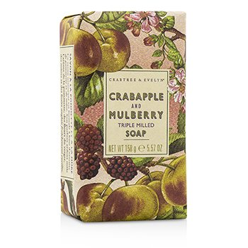 Crabtree & Evelyn Crabapple & Mulberry Triple Milled Soap  158g/5.57oz