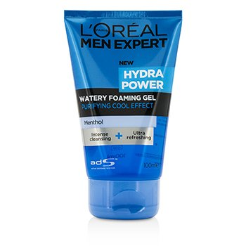 ロレアル Men Expert Hydra Power Watery Foaming Gel  100ml/3.4oz