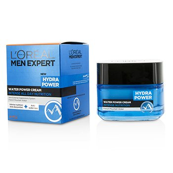 L'Oreal Krem na noc Men Expert Hydra Power Water Power Cream  50ml/1.7oz