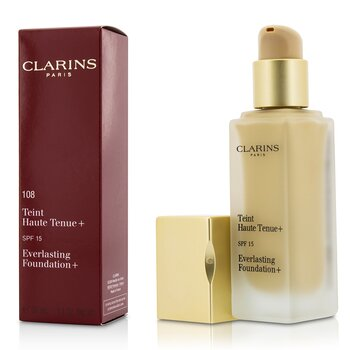 Clarins Podkłąd z filtrem UV Everlasting Foundation+ SPF15 - # 108 Sand  30ml/1.1oz