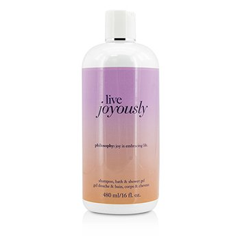 Philosophy Live Joyously Champ�, Gel de Ducha & Ba�o  480ml/16oz
