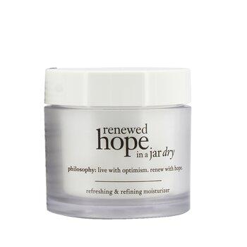 Philosophy Renewed Hope In A Jar Refreshing & Refining Moisturizer For Dry Skin  60ml/2oz