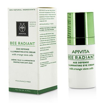 Apivita Bee Radiant Crema Iluminante de Ojos Defensa de Edad  15ml/0.54oz