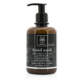 Apivita Mild Hand Wash With Olive & Honey  300ml/10.2oz