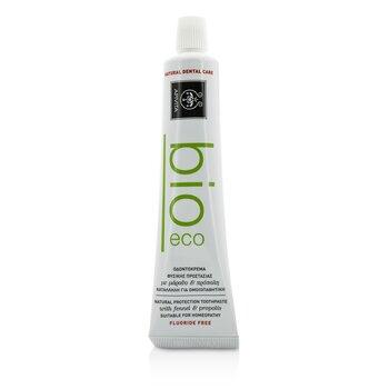 Apivita Bio-Eco Natural Protection Crema Dental Con Hinojo & Propóleos  75ml/2.53oz