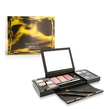 Laura Mercier Colección Master Class Colour Essentials (12x Color Ojos, 3x Color Mejillas,  2xDelineador Ojos, 1x Lápiz Ojos, 2x Pinceles)
