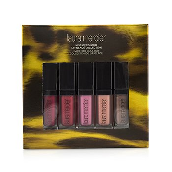 Laura Mercier Kiss of Colour Colecci�n Brillo Labios (5x Mini Brillos de Labios)  5pcs