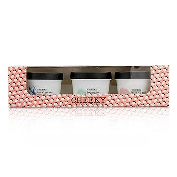 チーキー From Rough To Buff Set: Shower Jelly 100g/3.53oz + Dry Body Buff 100g/3.53oz + Body Balm 100g/3.53oz  3pcs