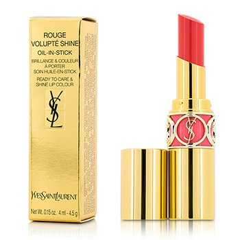 Yves Saint Laurent Rouge Volupte Shine Oil In Stick - # 41 Corail A Porter  4.5g/0.15oz