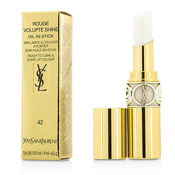 Yves Saint Laurent Rouge Volupte Shine Oil In Stick - # 42 Baume Midi Minuit  4.5g/0.15oz